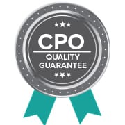 about cpo quality guarantee logo
